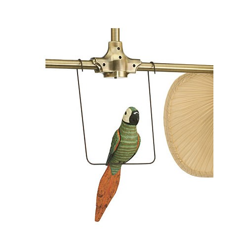 Decorative parrot accessory